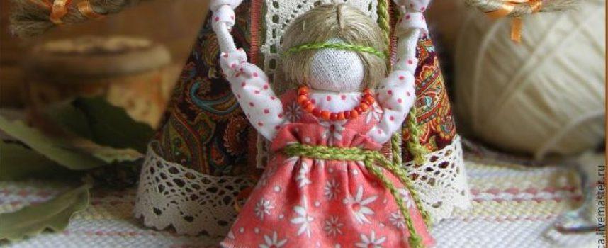 Создаём куклу-берегиню Ведучку в нашей новой сказке «12 ключей к исцелению»
