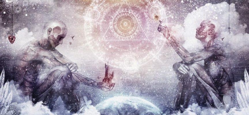Взаимодействие людей и их вселенных