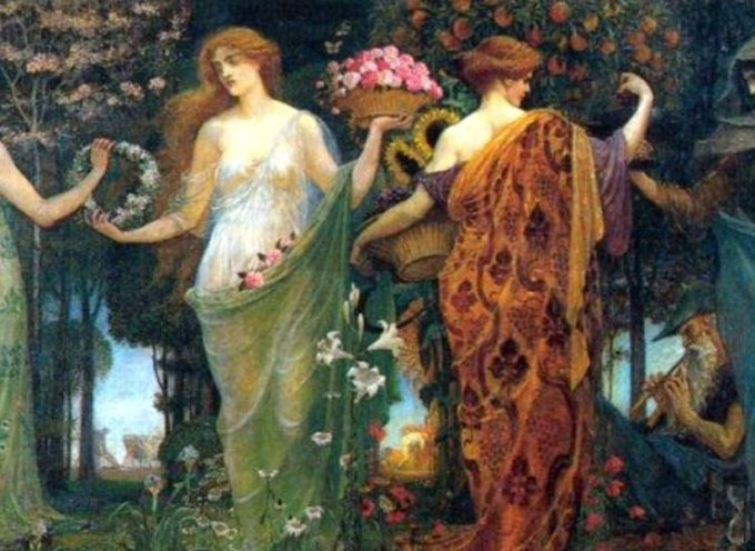 Взаимодействие с женскими архетипами и божествами в Хороводе поддержки. Присоединяйтесь!