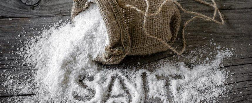 Сильная чистка каленой солью