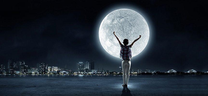 Волшебный ритуал Полнолуния 1 октября «Лунная батарейка»