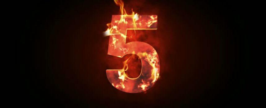 Число 5 в нумерологии — что оно значит и как использовать его силу
