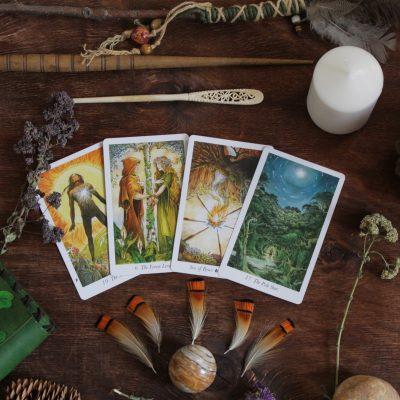 Определение магических способностей по старшим арканам Таро