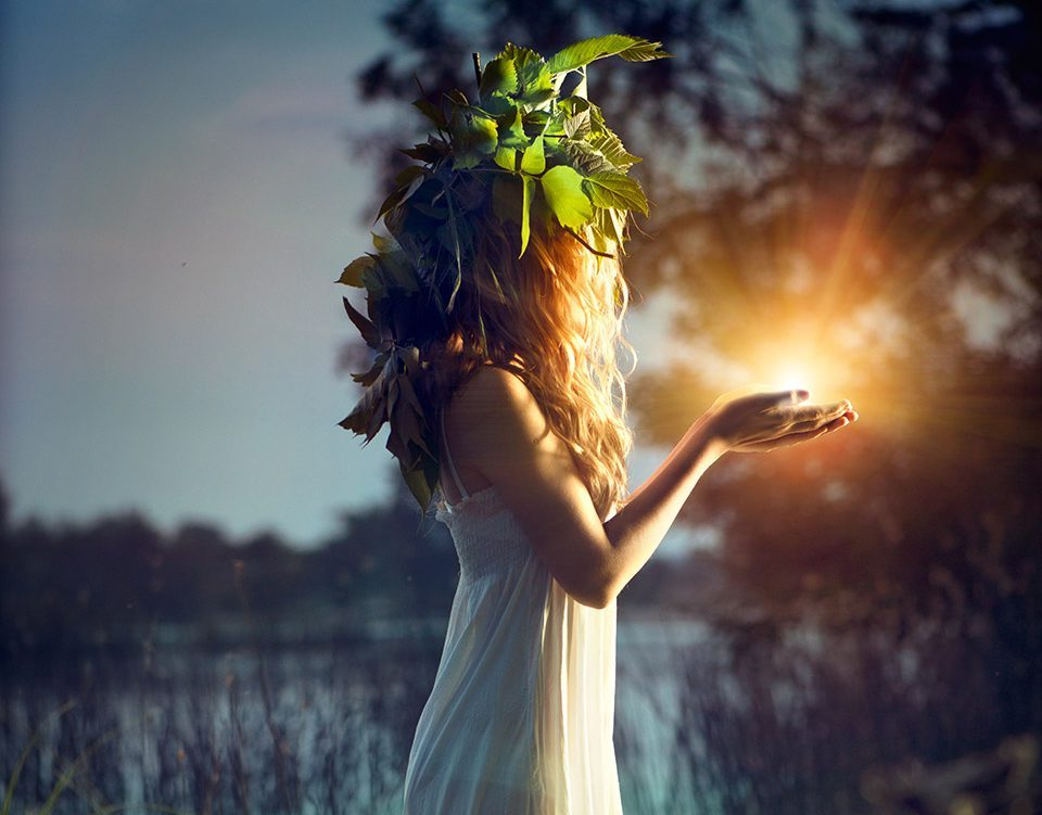Магия женщины картинка