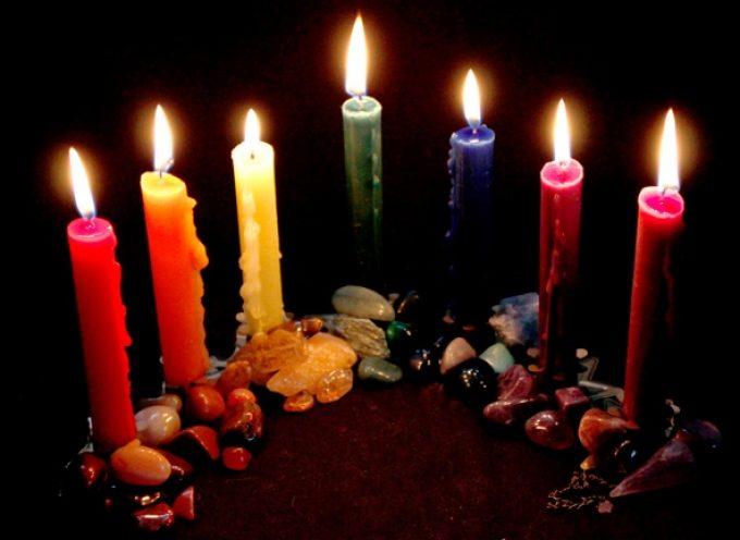 Заклинание с травами и свечами для изобилия и здоровья